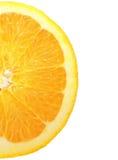 Closeup orange pattern Royalty Free Stock Image