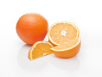 Closeup of oranges Stock Photos