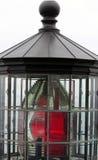 Closeup of an Oregon Coast Lighthouse Stock Photo