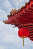 Closeup of Oriental architecture Royalty Free Stock Photo