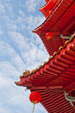 Closeup of Oriental architecture Royalty Free Stock Photography