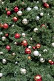 Christmas Tree loseup Royalty Free Stock Photo