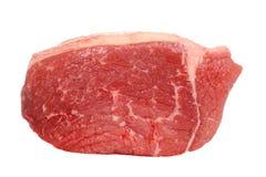 Closeup outside round steak Stock Photo