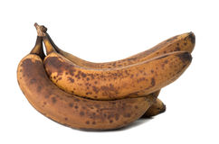 Closeup of overripe and old banana Royalty Free Stock Image