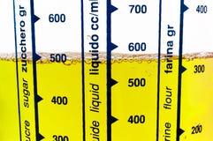 Closeup på en full mäta tillbringare Arkivbilder