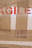 Package tape detail Royalty Free Stock Photography
