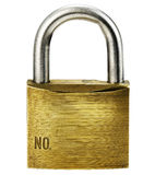 Closeup of padlock Royalty Free Stock Photos