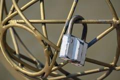 Closeup of a padlock Royalty Free Stock Images