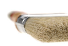 Closeup of a paint brush Stock Photos
