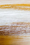 Closeup of paint wood. Wooden plank as background texture. Royalty Free Stock Photos