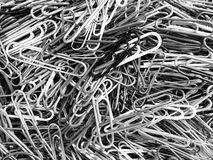 Closeup of Paper Clips Royalty Free Stock Photography
