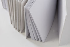 Closeup of paper sheets Stock Photography