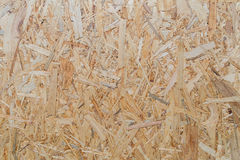 Closeup of a particle board Stock Images