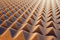 Acoustic foam panel background Royalty Free Stock Image