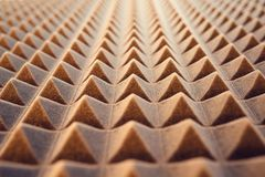 Acoustic foam panel background Stock Photography