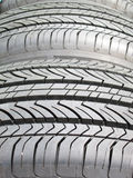 Closeup pattern of old tire texture Royalty Free Stock Photography