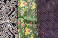 Closeup pattern silk Royalty Free Stock Images