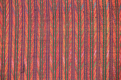 Closeup pattern of thai handmade fabric Royalty Free Stock Images