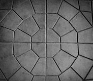 Closeup paving tile pattern Stock Photography