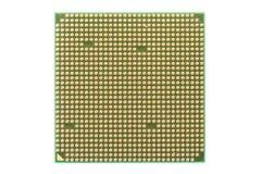 Closeup of a PC processor Stock Image