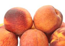 Closeup peaches Royalty Free Stock Images