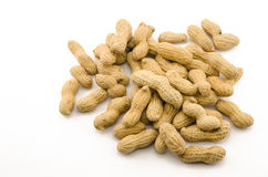 Closeup of Peanuts Stock Photo