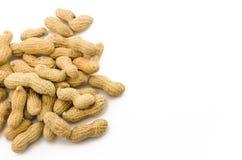 Closeup of Peanuts Stock Photos