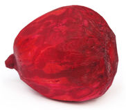 Closeup of peeled red beet Stock Photography