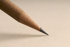 Closeup of a pencil Royalty Free Stock Image