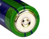 Closeup of pencil battery Royalty Free Stock Image
