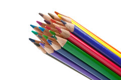Closeup pencils Stock Photo