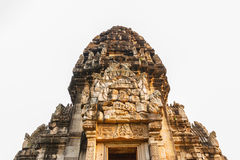 Closeup Phimai Stone Castle Royalty Free Stock Photos