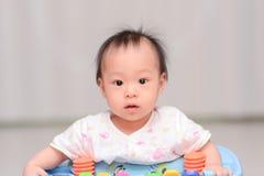 Closeup photo of beautiful cute asian baby Royalty Free Stock Images