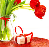 Gift for mothers day Royalty Free Stock Photos