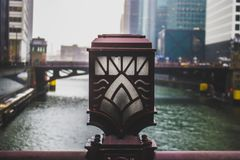 Closeup Photo of Bridge Lamp stock photography