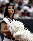 Closeup Photo of Cheerleader Holding White Pompom Royalty Free Stock Image