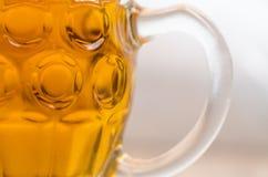 Closeup Photo of Clear Glass Mug stock image