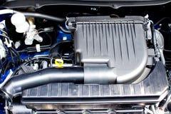 Closeup photo Engine Car Stock Image