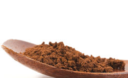 Closeup photo of instant coffee Royalty Free Stock Images