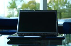 Closeup photo of laptop computer Royalty Free Stock Photo