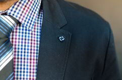 Closeup Photo of Man in Black Suit Jacket Royalty Free Stock Photo