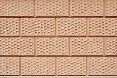 Brown paving stone. Closeup photo of modern brown paving stone background Royalty Free Stock Photos