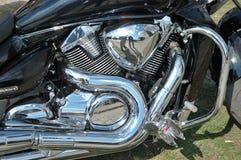 Closeup photo of motorbike Stock Image