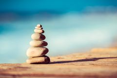 Life in balance concept royalty free stock photo