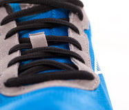 Closeup photo of trainers Stock Photography