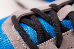 Closeup photo of trainers Stock Photos