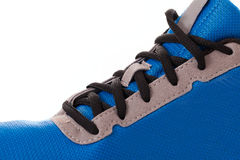 Closeup photo of trainers Royalty Free Stock Image