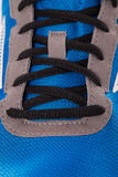Closeup photo of trainers Stock Image
