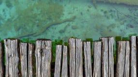 Closeup photo of wooden floor panels Stock Photos