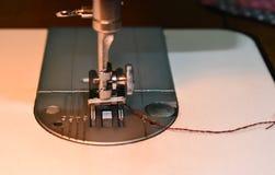 Sewing machine needle royalty free stock image